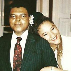 Elvina and her late dad, Olorogun Michael Ibru