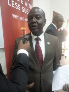 Engineer Fred Akingbesote, Deputy Director Standard Organisation of Nigeria (SON).