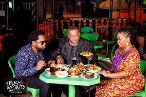 Cobhams Asiquo, Olisa Adibua & Nonny Aka of Goat Hunters