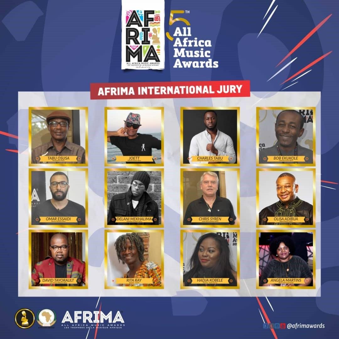 Afrima Winners