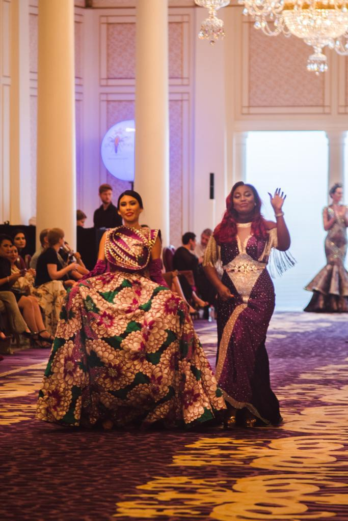Nigeria S Kiki Okewale Dazzled All With Her Collections At Dubai Fashion Week