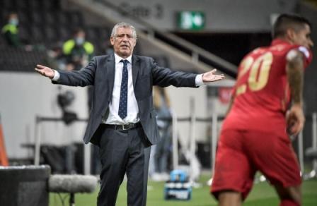 Portugals headcoach Fernando Santos